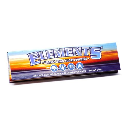 Elements ultra thin rice papers KingSize